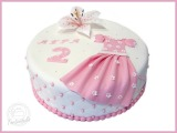 Geburtstagstorte-Lilie