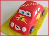 Auto-Torte (rot)