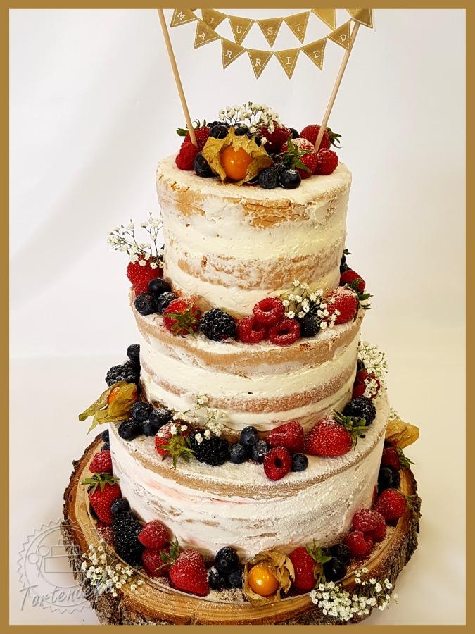 Naked Cake - die nackte Hochzeitstorte