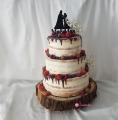 Hochzeitstorte, Naked Cake -1