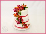 Hochzeitstorte mit Rosen1