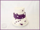 Hochzeitstorte mit Schmetterlinge2