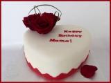 Herz rot Rosen herzförmig
