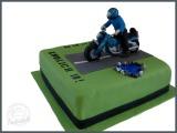 Torte Motorrad