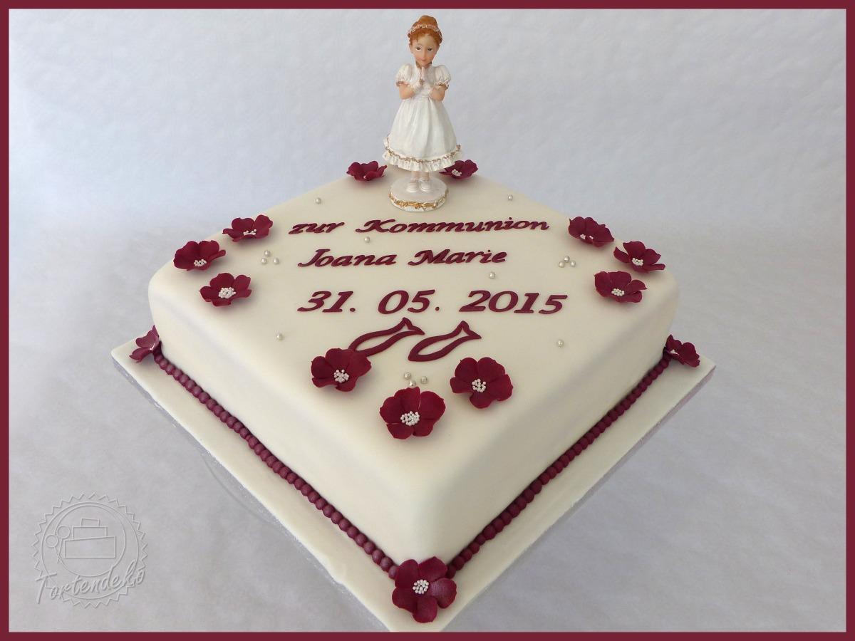 Taufe Konfirmation Und Kommunion Tortendeko Shop Bovenden