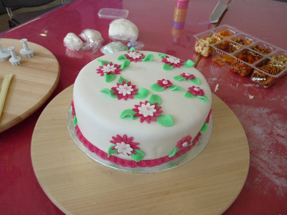 Workshop-Torte 3