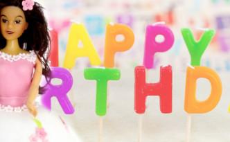 Barbie-Geburtstagstorte